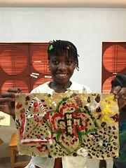Berline Pierre (Haiti Partners) Tags: childrensacademy 2016 july haiti entrepreneurship socialbusiness artscrafts papermaking