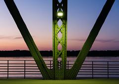 Glienicker Brcke (_LABEL_3) Tags: sonnenuntergang brcke landschaft architektur architecture bridge sunset berlin deutschland de