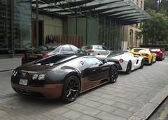 Bugatti Veyron Vitesse Rembrandt, Ferrari LaFerrari, Ferrari F12 TDF, Ferrari F12 (p3cks57) Tags: bugatti veyron vitesse rembrandt ferrari laferrari f12 tdf cars supercars worldcars hybrid hypercars combo london prince qatar khalifa