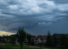 Nasty weather on the horizon (D.Spence Photography) Tags: clouds rain storm thunderstorm weather badweather foreboding omminous summer outdoor sky cloud supercell explore wow shelfcould