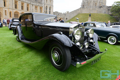 Rolls Royce Phantom II Gurney Nutting Short Chassis Continental Coupe 1933