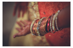 Crazy. Little. Bokeh. (Sanz'Y) Tags: sanzy canon wedding candid bride portrait pose colors bokeh red beauty