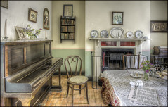 Ironbridge Cottage interior (Darwinsgift) Tags: ironbridge museum blists hill victorian town telford shropshire cottage interior nikkor 20mm f18 g nikon d810 hdr photomatix