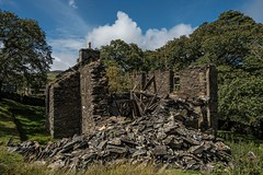 Broken dreams (doncontrols) Tags: creggans tholtan ellanvannin tholtywill sulby stone ruin derelict alt abandoned manx upland farm croft