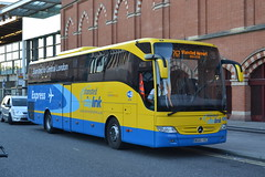 Stansted Citylink BG65VXC (Will Swain) Tags: london st pancras international station 18th july 2016 greater capital city south east transport travel uk britain vehicle vehicles country england english stansted citylink bg65vxc airport shuttle bus buses county coach coaches