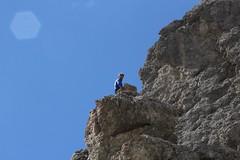 Rocciatori, Sassolungo. Dolomiti (Giorgio Pongiluppi) Tags: montagna rocciatori alpi dolomiti sassolungo