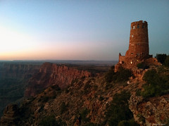 Grand Canyon Watchtower at sunset (mark_sheppard) Tags: grand canyon watchtower