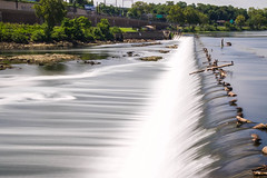 Going with the Flow (joscelyn_p) Tags: fairmountdam schuylkillriver philadelphia philly pennsylvania pa dam river water flow moving movement fast speed longexposure le daytime outside outdoors canon lightroom