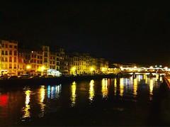Bayonne (mrjcrr) Tags: ville city view vue landscapep psayge night nuit light lumiere nive eau water sudouest paysbasque france