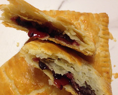 Chocolate Raspberry Pop Tarts (Helen S. Fletcher) Tags: poptarts chocolateraspberrypoptarts pastry food chocolate raspberry flakypastry