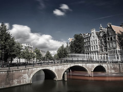 Day 9 - Fun with filters (A r l e t t e (reloaded)) Tags: keizersgracht amsterdam ndfilter longexposure