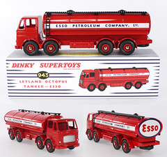 DIN-A-943-Esso (adrianz toyz) Tags: atlas reissue dinky toys supertoys 943 leyland octopus esso tanker toy model diecast china editions