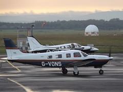 G-VONS Piper Saratoga PA32R (Aircaft @ Gloucestershire Airport By James) Tags: gloucestershire airport gvons piper saratoga pa32r egbj james lloyds