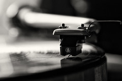 In The Groove (the weavster) Tags: sansuisr22mkii turntable analogue
