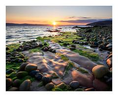 These Precious Things... (johnkaysleftleg) Tags: machriebay isleofarran scotland seascape sunset sandstone rocks stones green canon760d sigma1020mmf456exdchsm ndhardgrad06