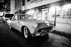Texas Thunderbird, Plate 2 (Thomas Hawk) Tags: auto bw usa ford car automobile texas unitedstates 10 unitedstatesofamerica dfw westtexas thunderbird fortworth stockyards fordthunderbird fav10 fortworthstockyards dmudallas012011