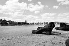 Budapest / Shoes on the Danube Promenade (SCL/BUD) Tags: nikon shoes hungary budapest nikkor f4 danube buda pest easterneurope voda magyarorszag hungra buda 1635 europadeleste documentaryphotography aquincum fotografadocumental d7000 tierradelosmagiares 1635f4 nikond7000 nikon1635f4 nikkor1635f4 wwwjulianmontonicom