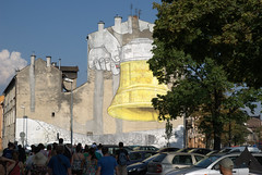 Art on a building