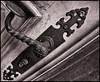 Antigua Cerradura (Antique Lock) (Black and White Fine Art) Tags: door blackandwhite white black texture textura blancoynegro canon puerta key puertorico lock sanjuan porta doorhandle llave cerradura lightroom fechadura maçaneta blackwhitephotos canon1855is canoneos50d canon50d blackandwhitefineart lightroom3 silverefexpro2 canoneos1855is