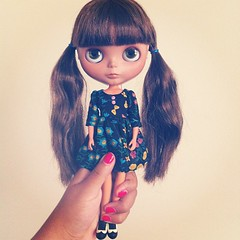 Too cute. Can't take it. #blythe #madebypablita