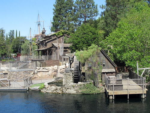 california summer usa disneyland riverboat anaheim marktwain 2012