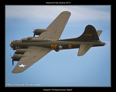 "B-17G FLYING FORTRESS ""SALLY B"" (Wings & Wheels Photography.) Tags: wwii duxford flyingfortress bdp cambridgeshire 2012 imperialwarmuseum iwm sallyb boeingb17g flyingdisplay canoneos7d americanairday bluediamondphotographic"