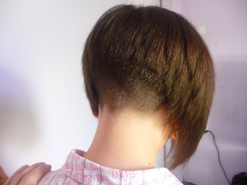 Bob haircuts with shaved napes | Anthony blog
