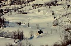 Arbéost (Hautes-Pyrénées, FR)Últimas noticias de la nieve (caminanteK) Tags: france landscape hiver nieve invierno neige frío froid midipyrénées granges estives tempêtedeneige coldusoulor arbéost fromagesdusoulor