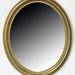 102. 20th century Gilt Oval Mirror