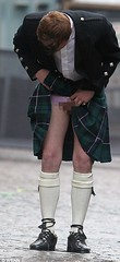 New disease? (kilt4142) Tags: man male men socks scotland shoes kilt legs bare under scottish highland scot knees kilts scots kilted lifted scotsman upkilt