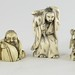 193. Group of Antique Ivory Netsuke