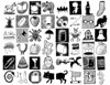 Drawing everything: Part 3 (Don Moyer) Tags: house moleskine mailbox pencil ink cat notebook sketch squirrel sock guitar drawing ghost coke canoe bee bolt jug specs cart moyer pest brushpen iphone donmoyer