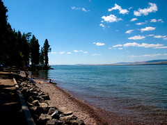 Flathead Lake (Eric K Gross) Tags: flatheadlake nationalbisonrange bitterrootmountains