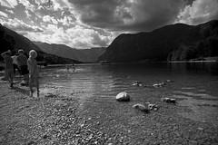 Verano (II) (Deckard73) Tags: water clouds landscapes lakes lagos slovenia nubes slovenija bohinj eslovenia pentaxphotogallery smcpentaxda141224 cazadoresdecielos