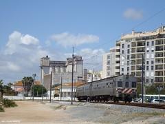 CP UDD 0600 - Faro, 2011 (Clube de Entusiastas do Caminho de Ferro) Tags: railroad portugal train faro eisenbahn rail algarve cp railways dmu udd caminhodeferro linhadoalgarve comboiosportugal udd600
