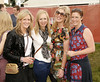 Lorraine Horgan, Vanessa Cuddy, Roisin Breen and Sarah Clarke at Casa Bacardi at Electric Picnic