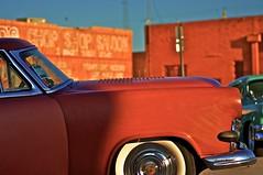 Chop Shop (pretty-nifty) Tags: old red hot cars shop dallas nikon whitewalls texas antique tx deep chop hotrod rod dfw invasion automobiles 2012 ellum chopshop d5000