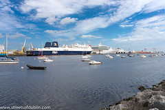 ireland dublin port boats europe sony ships liffey maritime docklands williammurphy dublinstreets irishrepublic streetsofdublin infomatique nex7