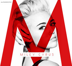 Miley Cyrus - M (allstarsideofme) Tags: album m cover cyrus miley fanmade