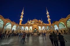 Sultanahmet Mosque - Exterior (Yavuz Alper) Tags: blue mosque ottoman cami sultanahmet osmanlı ottomanstyle
