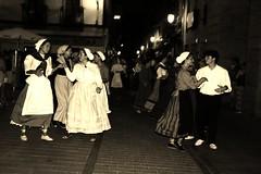 Dantza Txuri & beltz (xomorrotxoa) Tags: dantza euskaljaiak ordizia musika txaranga burrunbazale ordiziakodantzariak