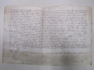 Testamento di Ursina Alieri, 1385