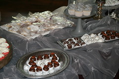 """cupcakes, cakeballs and cookies grooms table • <a style=""""font-size:0.8em;"""" href=""""http://www.flickr.com/photos/60584691@N02/7977164584/"""" target=""""_blank"""">View on Flickr</a>"""