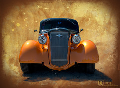 Orange (Dennis Cluth) Tags: hot texture car nikon rod custom d800