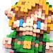 Pixel Art 3D Fimo 06