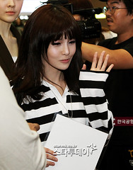 Incheon International Aiport (Go to Jeju Island) 08.09.12 (Venus Ha) Tags: airport tara eunjung boram areum jiyeon qri soyeon hyomin