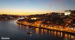 Porto at night (RubenjmGarcia) Tags: people portugal water rio gua night canon river eos porto noite 550d