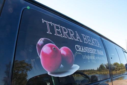 Cranberry farm van