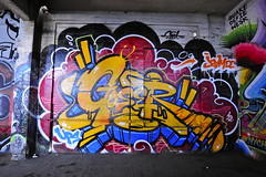 GOSER (STILSAYN) Tags: show graffiti oakland bay berkeley east special canvas area delivery 2012 endless goser