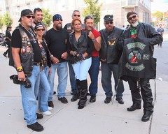 2012 Indian Larry Grease Monkey Block Party, Brooklyn, New York City (jag9889)